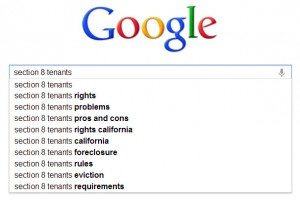 section 8 google suggestions