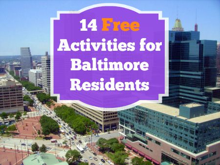 14 Free Things for Baltimore Tenants to Do
