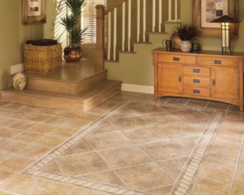Tile flooring in baltimore county rental property
