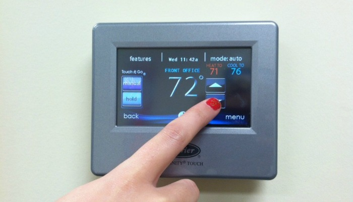 Programmable Thermostat in Baltimore County Rental Property
