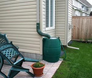 Howard County Rental Property Rain Barrels