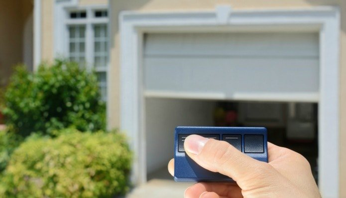 Baltimore County Rental Property with an Automatic Garage Door