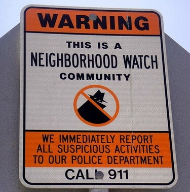 Neighborhood Watch Program in Baltimore County
