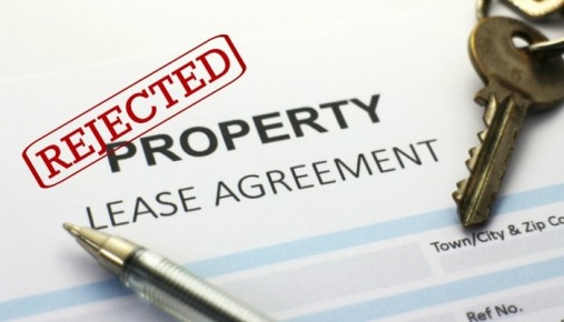 Rejected Tenant Application for Maryland Rental Property