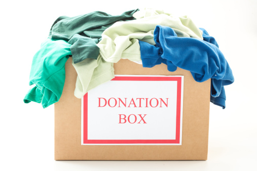 Anne-Arundel-cardboard-donation-box-with-clothes