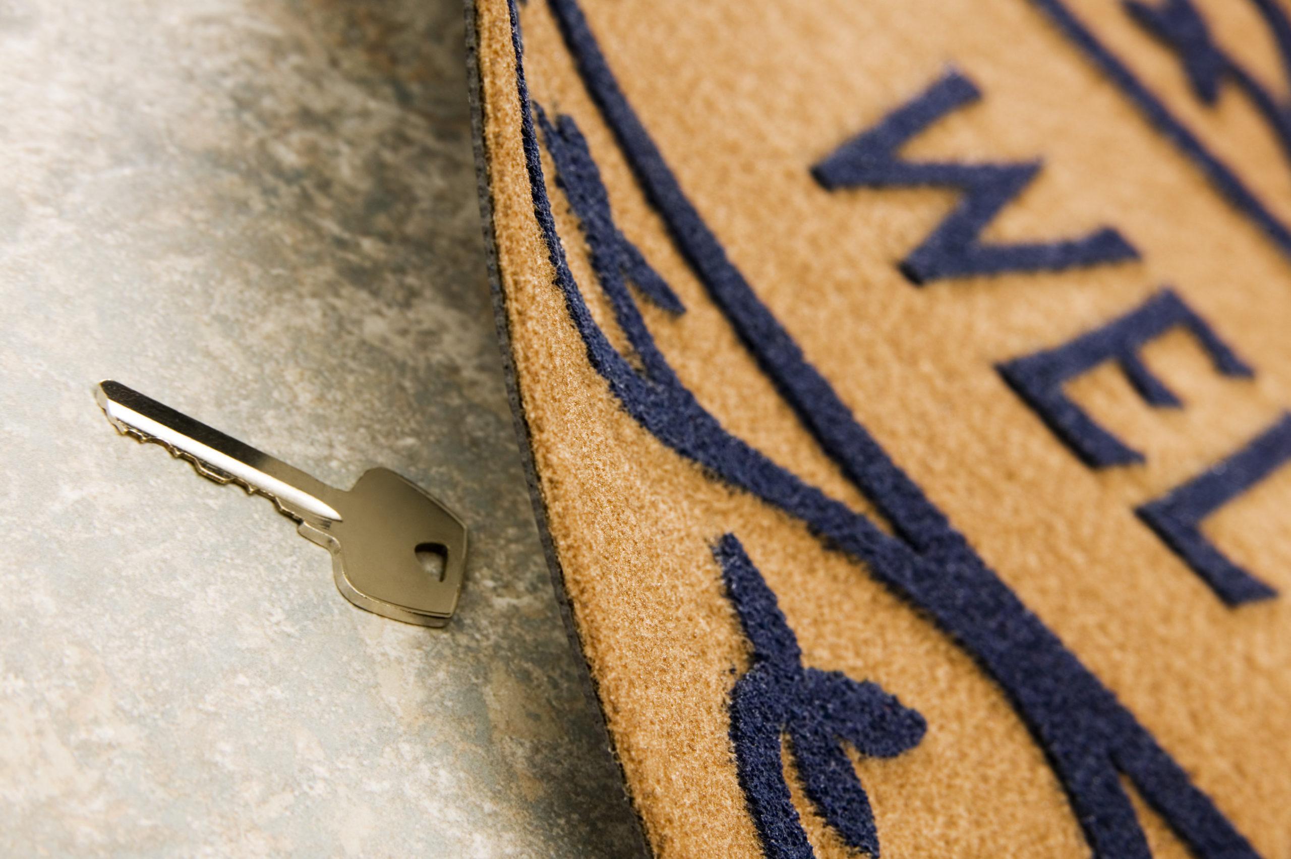 key-under-mat-howard-county-rental-property