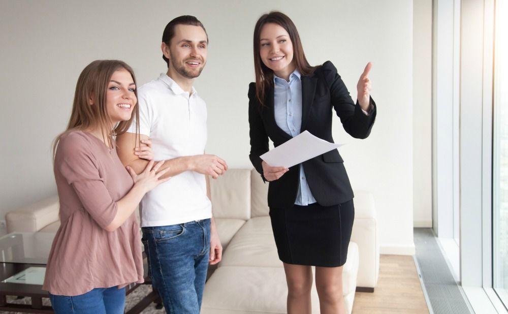 Philadelphia Property Manager Showing Tenants Rental Property