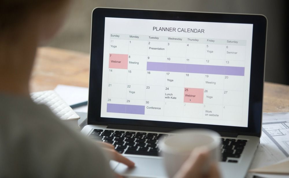 Keep A Calendar to Stay Organized With Your Annapolis Rental