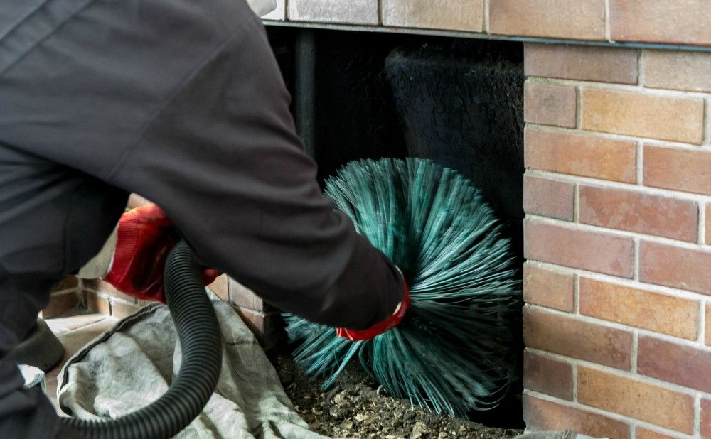 Clean the Fireplace During Fall Maintenance of Your Abingdon Rental