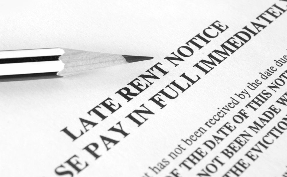 Failure to Pay Rent Allows Landlord to Break The Lease
