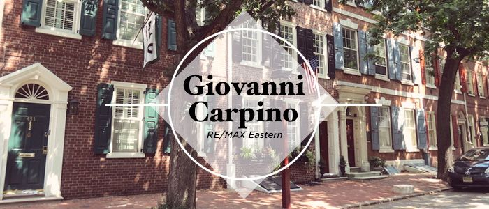 Giovanni Carpino Real Estate Agent Philly