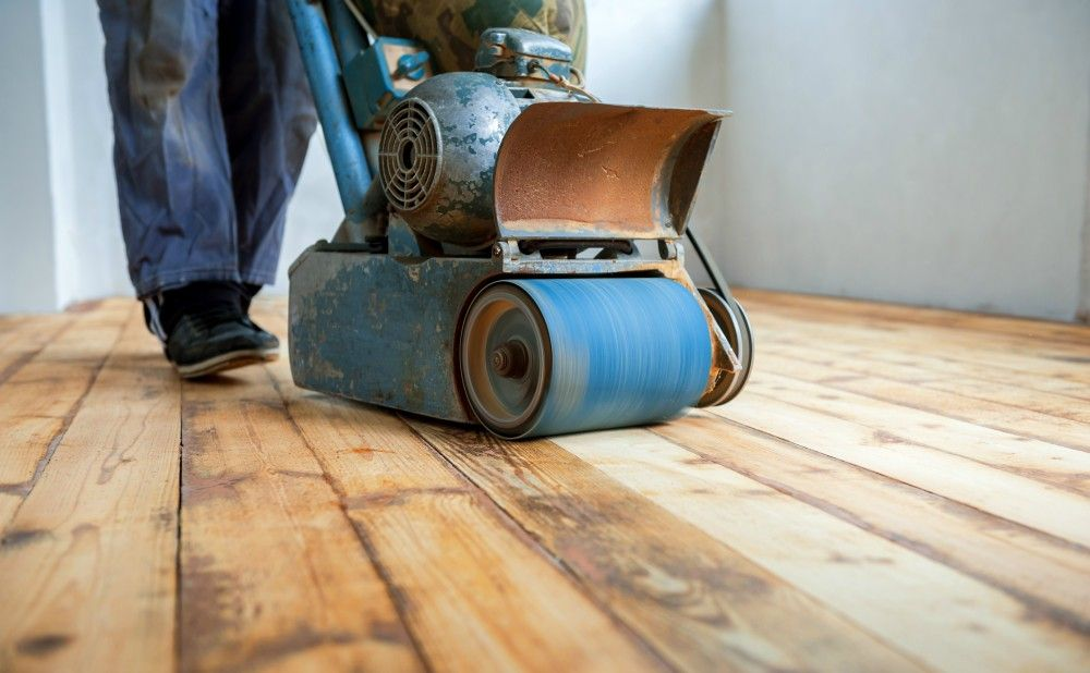 Leave The Floor Refinishing To The Professionals