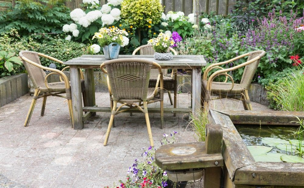 Add Patio Space to Make Your Rental Property Landscaping More Manageable