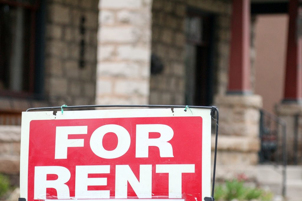 Rental Property For Rent Sign