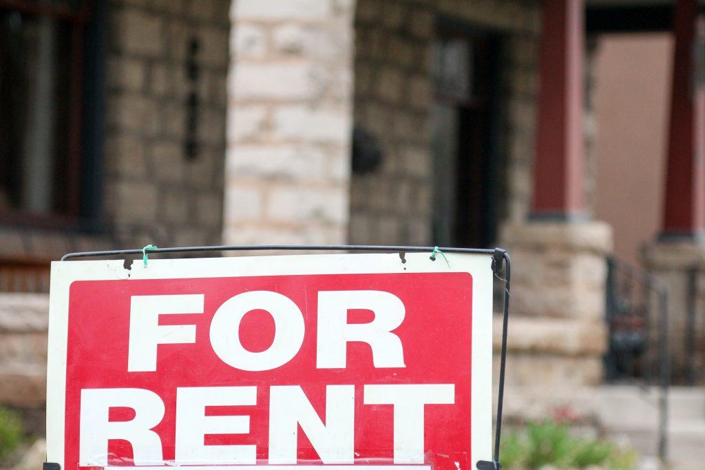 Rental Property For Rent Sign