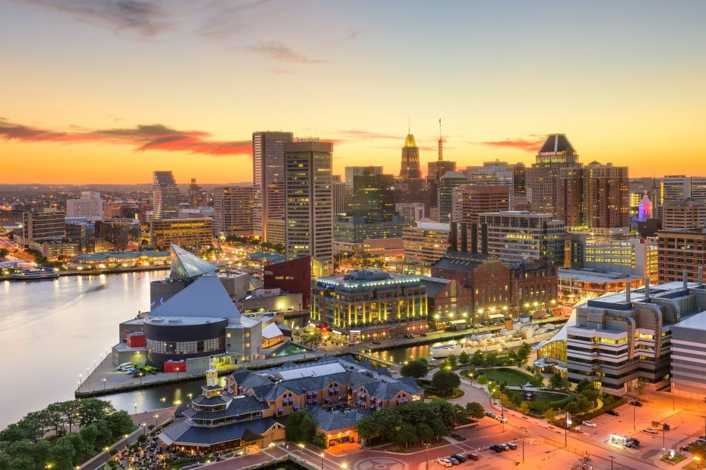 Picture of Baltimore Skyline