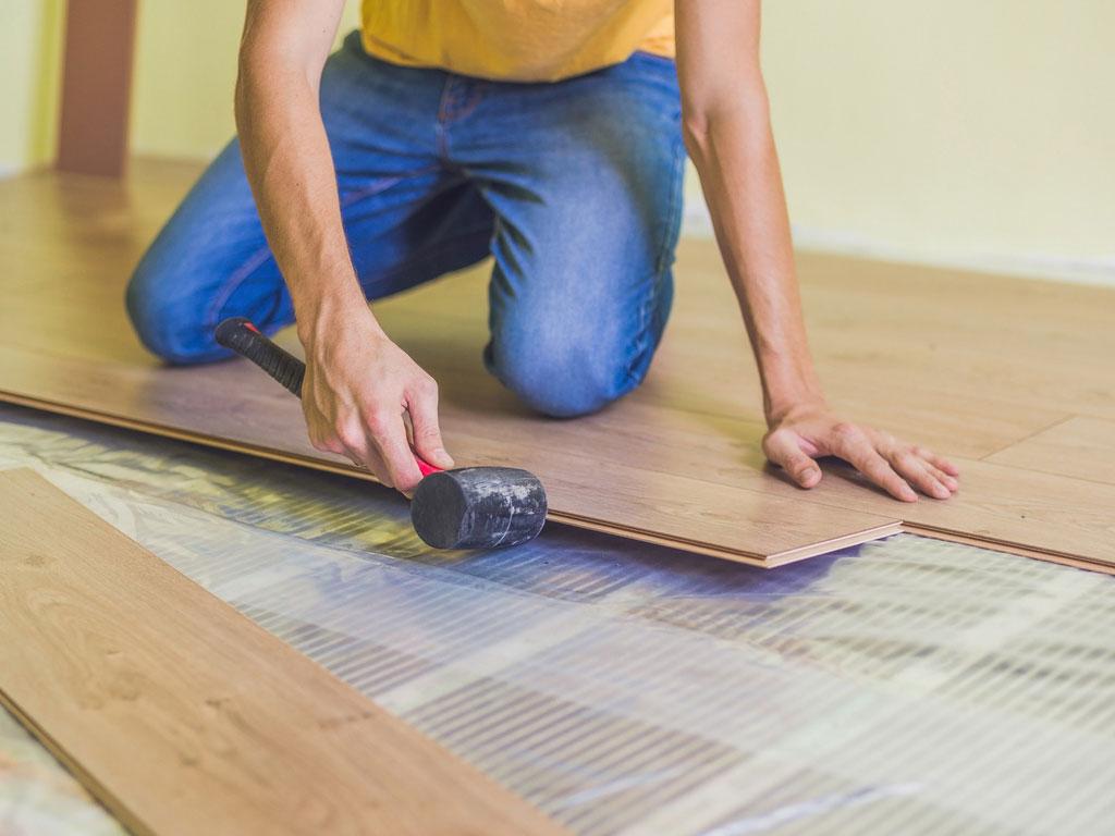 best flooring rental property
