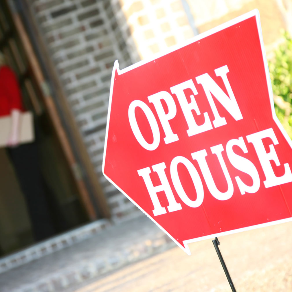 open house for the right tenant