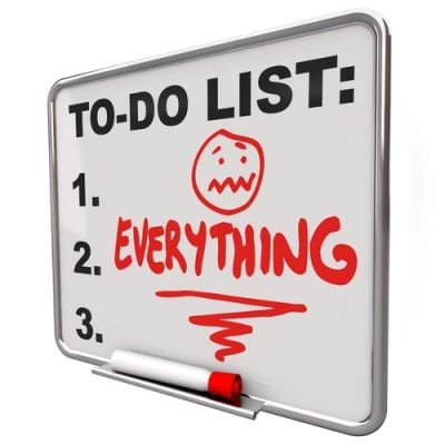 property management to do list