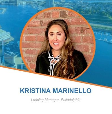 Employee Spotlight: Kristina Marinello, Leasing Manager - Philadelphia