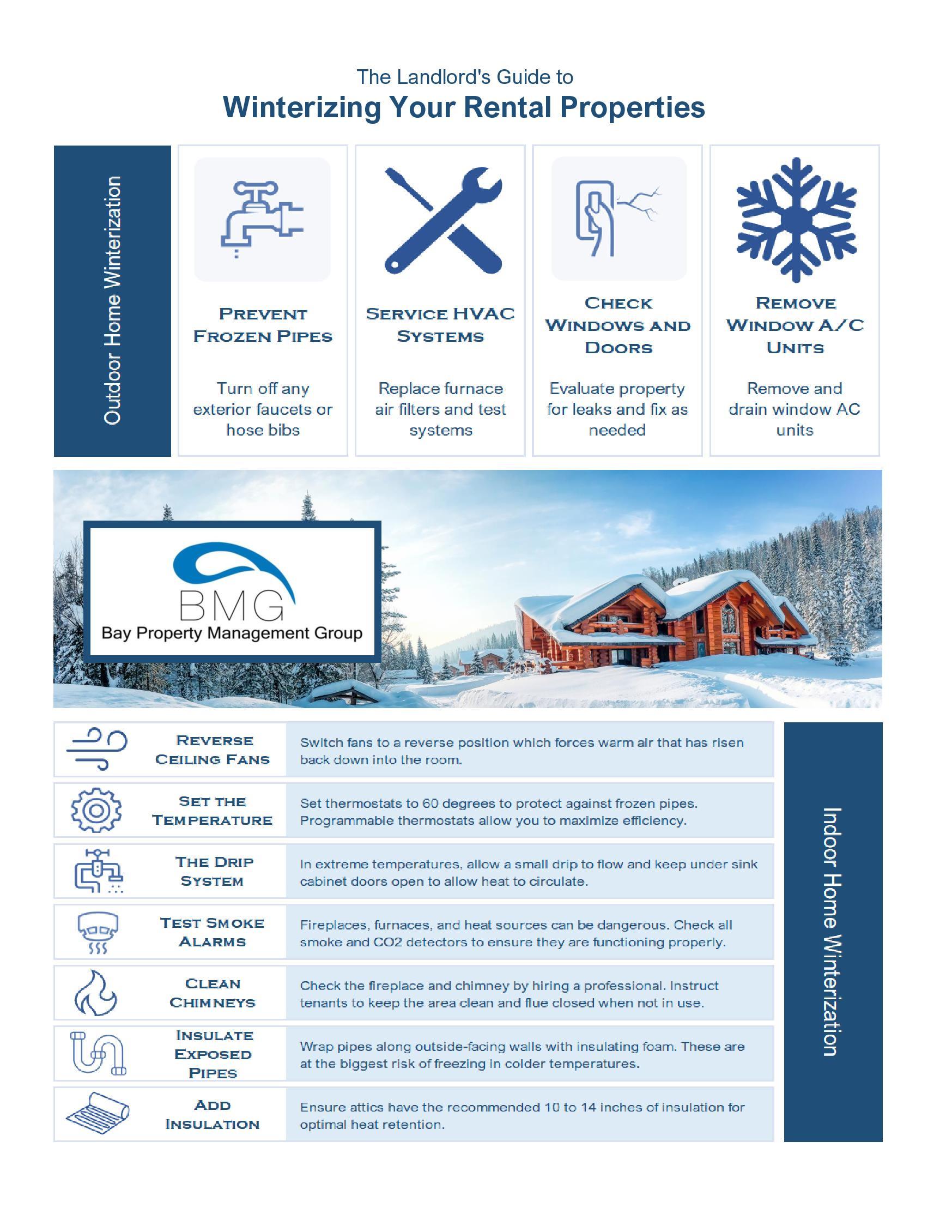 winterize rental property