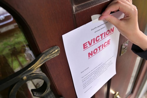 Filing False Charges or False Eviction Against the Tenant