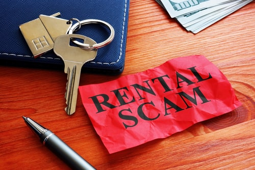 common tenant rental scams