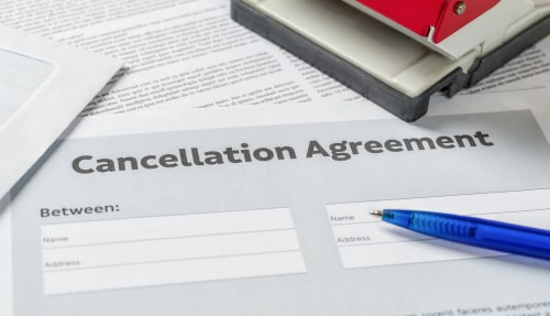 reasons your property manager can cancel your PMA