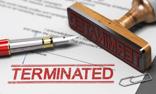 terminating a property management agreement