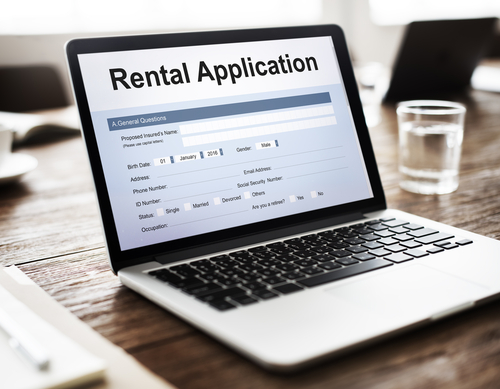 Rental Home Application Process
