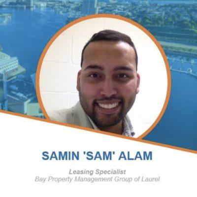 Employee Spotlight - Samin Alam, Leasing Specialist BMG Laurel