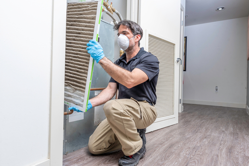 How to Change an HVAC Filter in Your Rental Property