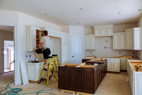 Refacing Worn Cabinetry